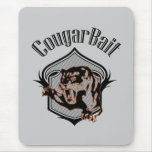 funny retro novelty humor cougar bait mouse pad