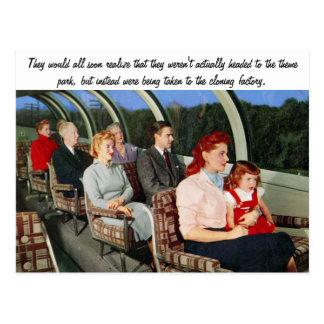 Funny Retro Postcard