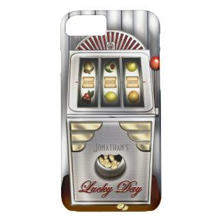 Funny Retro Slot Machine iPhone 7 Case