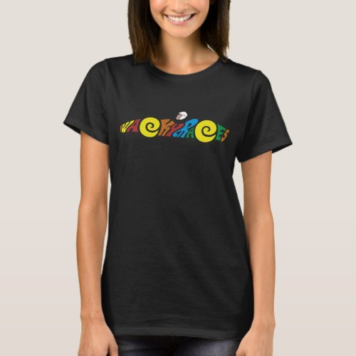Wacky Races Cartoon Logo T-shirt for Women