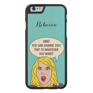 FUNNY RETRO WOMAN custom phone cases