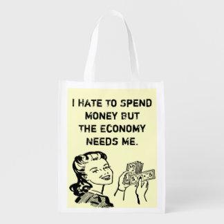 funny reusable tote bag reusable grocery bag