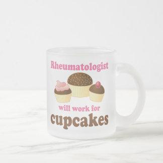 Funny Rheumatologist Frosted Glass Coffee Mug