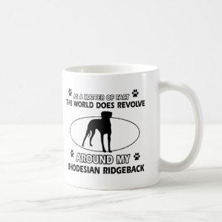 funny RHODESIAN RIDGEBACK designs Coffee Mug