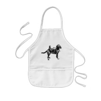 funny ride kids' apron