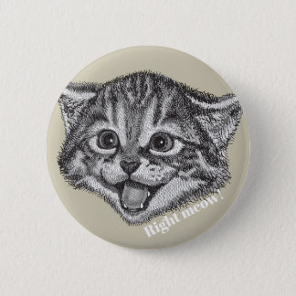 Funny Right Meow! Button