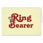 Funny Ring Bearer Greeting Card