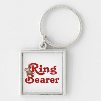 Funny Ring Bearer Key Chain