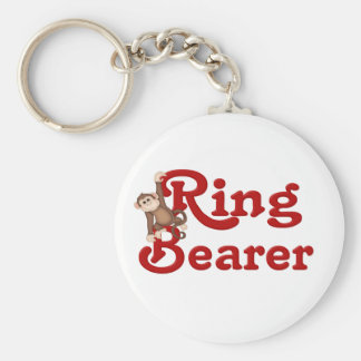 Funny Ring Bearer Keychain
