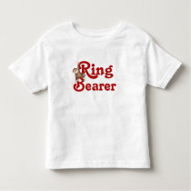 Funny Ring Bearer Toddler T-shirt