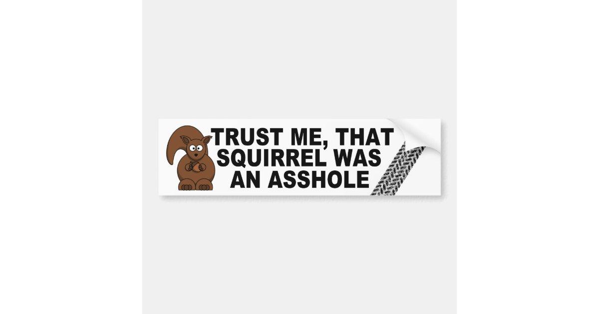Funny road kill joke bumper sticker zazzle com
