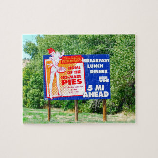Funny Road Signs Ho-Made Pies Puzzles