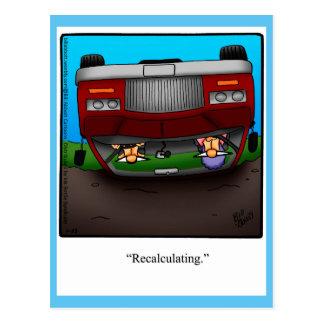 Funny Road Trip Humor Postcard