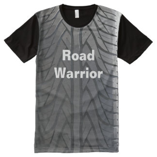 Funny Road Warrior All-Over Print T-shirt