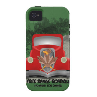 Funny Roadkill iPhone 4 Tough Case iPhone 4 Case