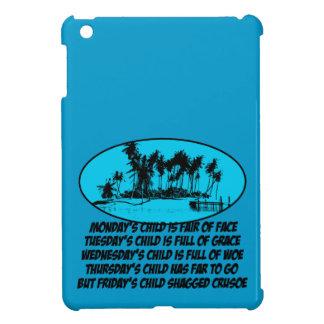 Funny Robinson Crusoe iPad Mini Cases
