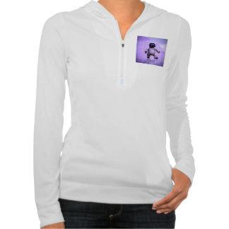 Funny robot cat sweatshirts