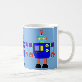 FUNNY ROBOT Classic White Mug