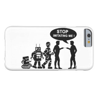 Funny robot evolution barely there iPhone 6 case