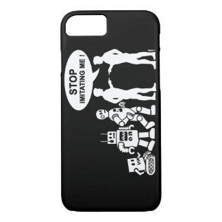 Funny robot evolution iPhone 7 case