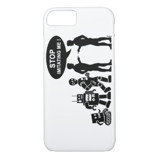 Funny robot evolution iPhone 8/7 case