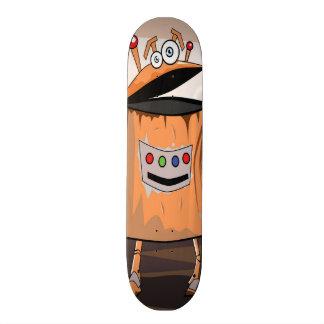 Funny Robot Skateboard
