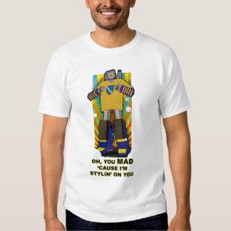 Funny Robot Tee Shirt