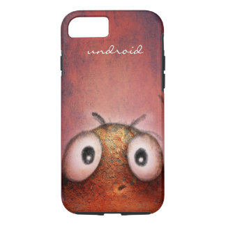 Funny Robot Undroid iPhone 7 Case