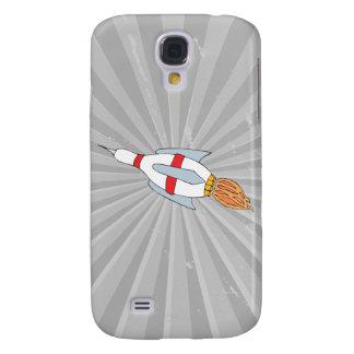 funny rocket bowling pin design cartoon galaxy s4 case