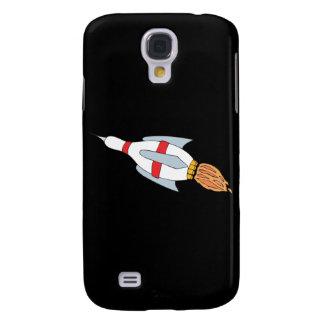 funny rocket bowling pin design cartoon galaxy s4 cover