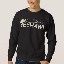 Funny Rodeo Horse Riding Cowboy and Cowgirl Sweatshirt