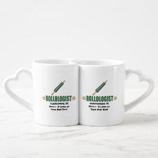 Funny Rolling Pin Coffee Mug Set