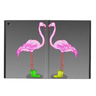 Funny Romantic Pink Flamingos Wearing Boots Powis iPad Air 2 Case