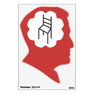 Funny Romney Thoughts about Empty Chair Wall Decal