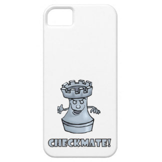 Funny rook chess piece (cartoon) checkmate! iPhone SE/5/5s case