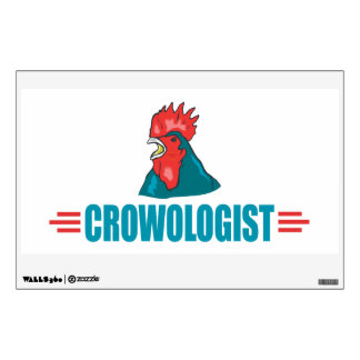 Funny Rooster Crowing Wall Sticker