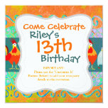 Funny Rooster Hen Funky Chicken Farm Animal Gifts Card