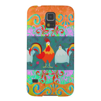 Funny Rooster Hen Funky Chicken Farm Animal Gifts Galaxy S5 Cover