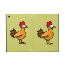 Funny rooster iPad mini case