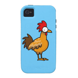 Funny rooster iPhone 4/4S covers