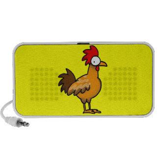 Funny rooster portable speaker