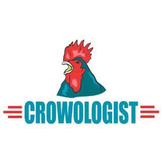 Funny Roosters Cutout