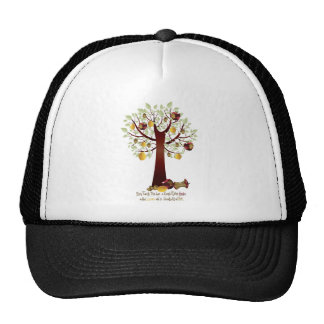 Funny Rotten Apple Family Tree Hats