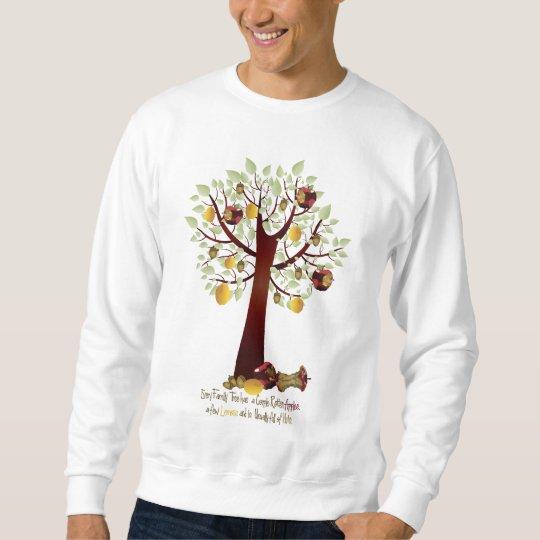 Funny Rotten Apple Family Tree Sweatshirt