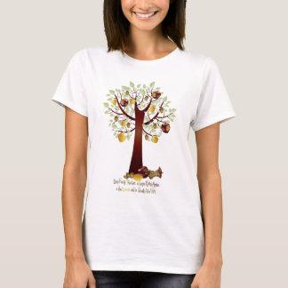 Funny Rotten Apple Family Tree T-Shirt
