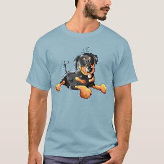 Funny Rottweiler Cartoon T-Shirt