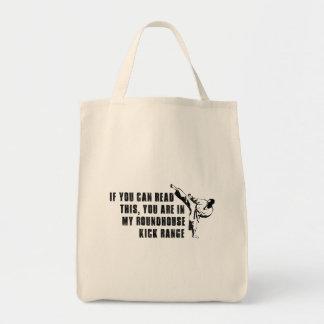 Funny roundhouse Kick Tote Bag
