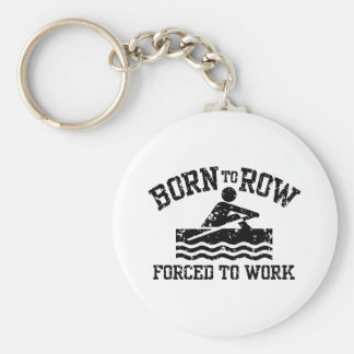 Funny Rowing Keychain
