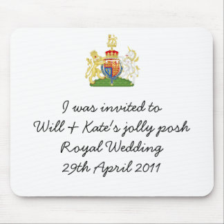 Funny Royal Wedding Apron souvenir mousemat Mouse Pad