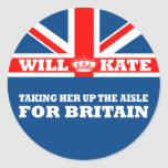 Funny Royal Wedding Stickers